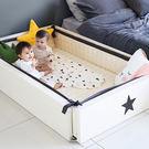 里和家居 l GGUMBI DreamB 韓國多功能圍欄地墊式嬰兒床-夢幻雲朵/星星 圍欄 遊戲床 地墊