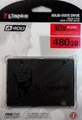 全新Kingston 金士頓SA400 480GB SSD 500/450MBS ( SA400S37/480G )