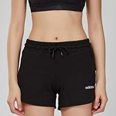 Adidas NEO 女子 黑色 跑步 訓練 運動 休閒 短褲 DW7744