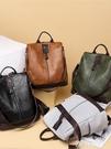 後背包 兩用復古雙肩包背包女包新款時尚包包百搭大容量休閒書包旅行 韓菲兒