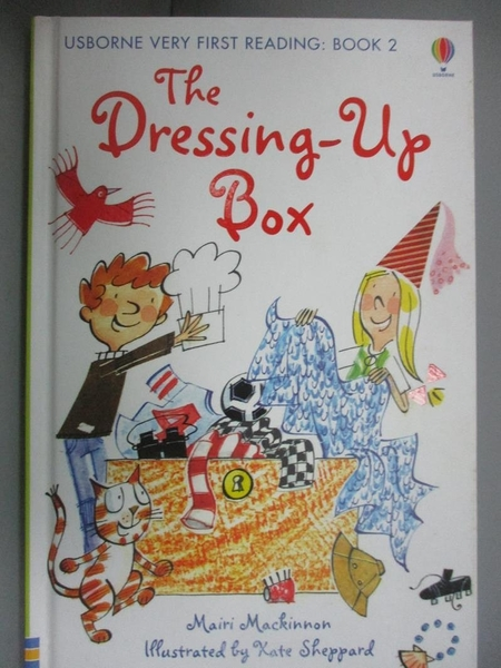 【書寶二手書T4/兒童文學_KLK】The Dressing Up Box (Usborne Very First Re