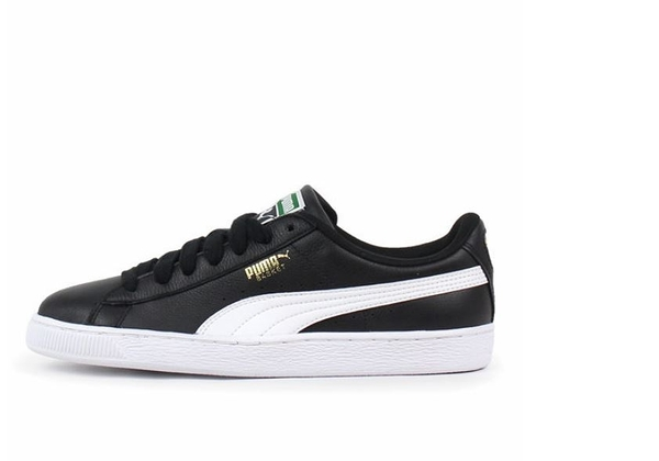 PUMA BASKET CLASSIC LFS 男女款經典復古黑色休閒鞋-NO.35436721