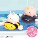 蜜蜂兔獨角獸按捏噴水寶寶洗澡玩具 戲水玩具