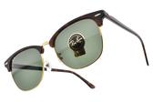 RayBan 太陽眼鏡 RB3016F W0366 -55mm (深琥珀-金) 時尚新寵經典款 眉框眼鏡 # 金橘眼鏡