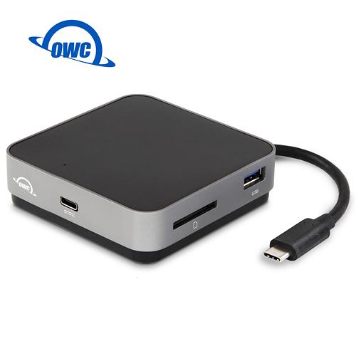 OWC USB-C TRAVEL DOCK 2.0(太空灰)USB-C、USB-A、SD Card、HDMI隨身USB-C多功能擴充座( OWCTCDK5P2SG )
