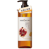 髮的料理蜂蜜石榴水潤亮澤洗髮露530ml【愛買】