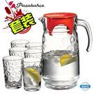 冷水壺土耳其具套裝家用創意玻璃杯水壺7件...