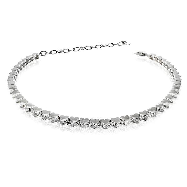 鑽石手鍊 BRILLMOND 星河閃耀滿鑽鑽石手鍊(18K白金)