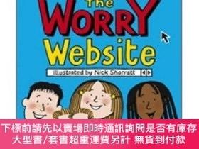 二手書博民逛書店The罕見Worry Website (Reissue) 排憂解難網站Y454646 Jacqueline W