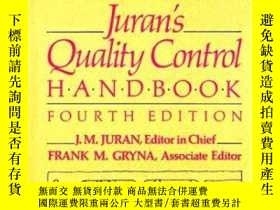 二手書博民逛書店Juran s罕見Quality Control HandbookY255562 J.m. Juran Mcg