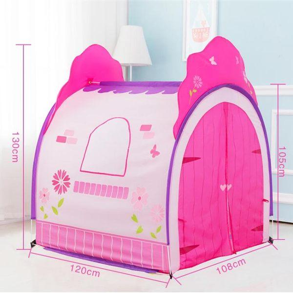 兒童帳篷游戲屋波波球海洋球池室內男孩玩具屋女孩公主房寶寶家用NMS 台北日光