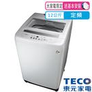 東元 12公斤 FUZZY人工智慧定頻洗...