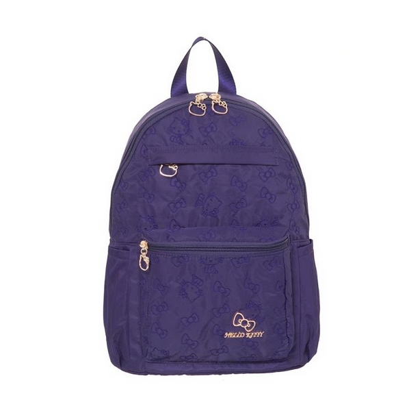 Hello Kitty - 快意之旅-後背包(中)-紫 KT01R02PL