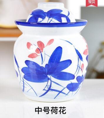 泡菜壇子家用陶瓷腌菜壇腌制