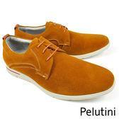 【Pelutini】麂皮時尚休閒鞋 咖啡(9135-BRS)