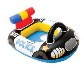 [衣林時尚] INTEX 警車游泳圈 71cm x 57cm 59586 建議1-2歲11kg以下 + 打氣筒