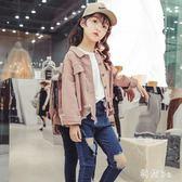 中大尺碼女童牛仔外套春裝2019新款韓版時尚兒童春網紅洋氣時髦童裝潮 GW69『科炫3C』