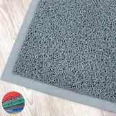 范登伯格 PVC膠底室外墊/地墊 刮泥墊 戶外墊 門墊 踏墊-灰-90x120cm