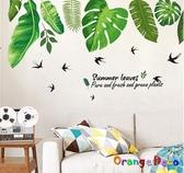 壁貼【橘果設計】熱帶雨林 DIY組合壁貼 牆貼 壁紙 室內設計 裝潢 無痕壁貼 佈置