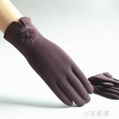 手套女保暖手套秋冬手套女士加絨觸摸屏手套騎車休閒冬季開車棉厚『小淇嚴選』