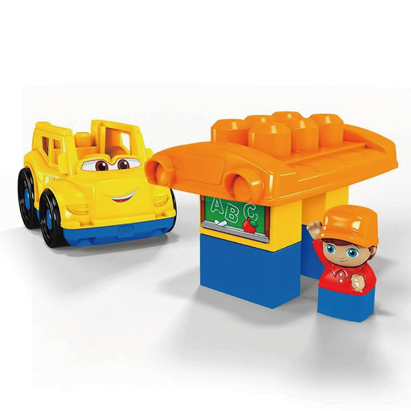 Mega Bloks美高積木小小校車