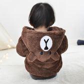 加厚加棉男女寶寶冬裝加絨棉衣外套0-1-2-3歲韓版女童嬰兒棉襖潮