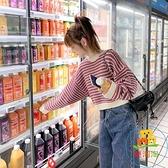日系毛衣女短款寬鬆外穿慵懶風套頭針織衫上衣