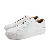 Hush Puppies 休閒鞋皮鞋牛皮白色男鞋6201M123509 no188