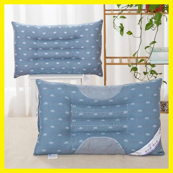 【一對裝】決明子枕頭一對單人成人枕芯護頸枕蕎麥保健磁療枕學生
