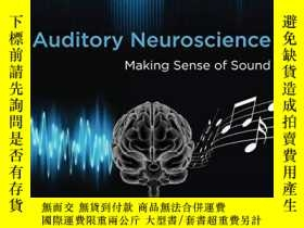 二手書博民逛書店Auditory罕見Neuroscience: Making S