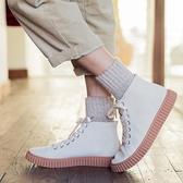 男中筒襪 襪子男加厚保暖加絨羊毛中筒襪男士棉襪冬天黑色毛巾長襪 萬寶屋