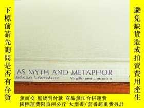 二手書博民逛書店WOMAN罕見AS MYTH AND METAPHOR:in L