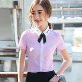 夏季新款女裝襯衫短袖業韓范寸衫打底上衣