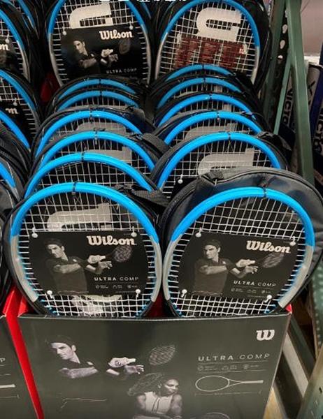 [COSCO代購] C1389396 WILSON TENNIS RACKET 碳纖網球拍及單支球拍袋 球拍約270克重