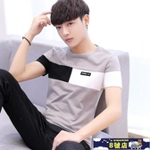 中大尺碼短袖T恤男 2020夏季韓版潮流學生寬鬆夏裝半袖衣服 8號店