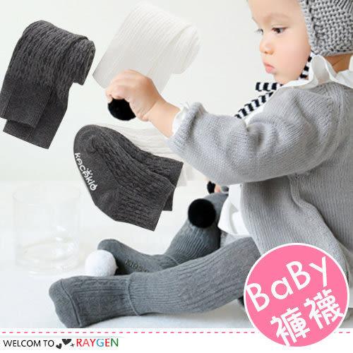 男女寶寶螺紋針織連身褲襪 九分打底褲 短襪 套裝