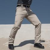 戰術褲 執政官戰術褲男夏季軍迷作訓褲子彈力工裝褲特種兵修身戶外速干褲【快速出貨】
