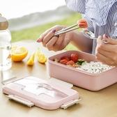 Ymer保溫飯盒學生女食堂分格便當盒帶蓋韓國創意可愛成人餐盒