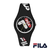【FILA 斐樂】/造型LOGO錶(男錶 女錶 Watch)/38-185-001/台灣總代理原廠公司貨兩年保固