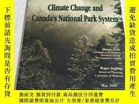 二手書博民逛書店Climate罕見Change and Canada s Nat