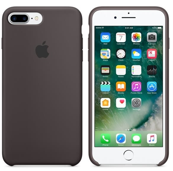 APPLE iPhone 7 原廠矽膠護套 4.7吋 手機套 可可色