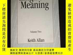 二手書博民逛書店Linguistic罕見Meaning Volume TwoY16149