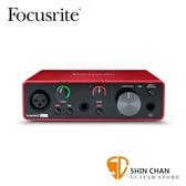 Focusrite Scarlett Solo 新版三代 錄音介面 USB 介面(總代理/公司貨)保固二年