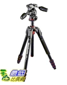 [美國直購] Manfrotto 190GO! Aluminum Tripod with 3-Way Head _A1074030