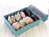 約翰家庭百貨》【SA120】7格彩色有蓋竹炭收納盒 胸罩專用收納盒 內衣收納盒 隨機出貨