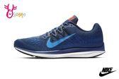 NIKE ZOOM WINFLO 5 成人男款 運動鞋 慢跑鞋 P7017#藍色◆OSOME奧森鞋業