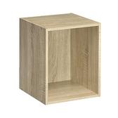 【TZUMii】簡約加高單格櫃-淺橡木色