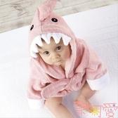 寶寶吸水浴袍浴巾兒童可愛動物原創造型家居服披風禮品【聚可愛】