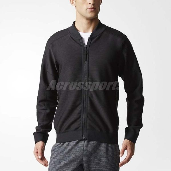 adidas 外套 UD TT RVS 黑 男款 飛行夾克 空軍外套 飛官 運動外套 夾克 長袖【PUMP306】 BR0229