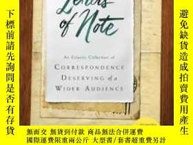 二手書博民逛書店Letters罕見Of Note-票據Y436638 不祥 Chronicle Books, ... ISBN